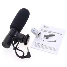Video kamera microphone universal untuk kamera DSLR