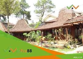 Dijual Hotel dan Resort di Cisarua dekat Villanya Aburizal Bakri