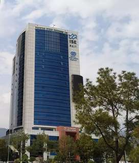 2700 sqft office space for rent in ISE Towers blue area Islamabad