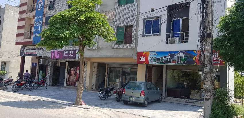 Shop/ office ideal location available for rent in pak Arab society 0