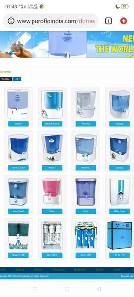 Water level controller and Water purifier