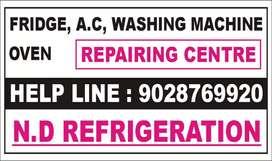 All tipe fridge ovan ac washing machine repair
