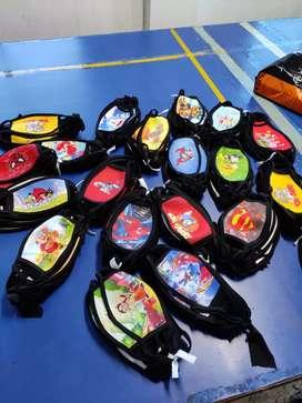 Kids Digital Printed Masks