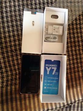 huawei y7 prime 2019  4gb or 64gb. brand new. one day use just.