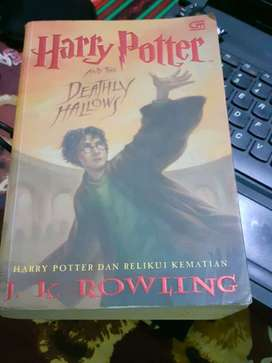 Buku Novel Harry Potter