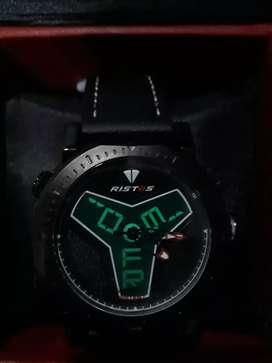 Jam tangan ristos, jam tangan analog,digital
