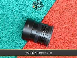 Lensa 7Artisan 50mm F1.8 for Sony