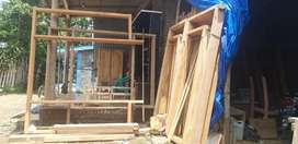 Kusen kamar bahan kayu jati