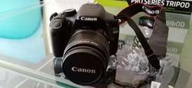 Canon 550D with 18-55mm