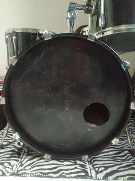 Head skin bass drum 20 inc hitam