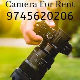 Camera Rent (DSLR CANON)