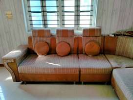 L Shape Fabrica Sofa
