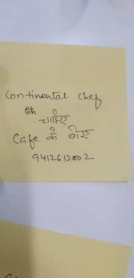 Continental chef
