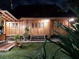 Disewakan rumah LIMASAN(2 k tidur, 1r tamu), nyaman,fasilitas lengkap