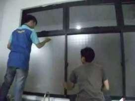 Kaca film gedung per meter cuman 65k free pasang