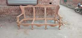 This is sofa 3 seater I want to sell because my work is furniture so