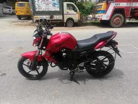 Auto India yamaha fzs 16 Red showroom condition