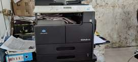 Konica Minolta Bizhub 215 printer A/3/4 jambo copy A/3 sacaner