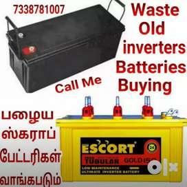 Buying =Old Batteries inverters Scrap buy taken