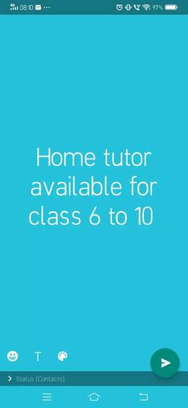 Tution class avilable for class 6 to 10