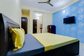 PG rooms with attached bathroom & kitchen full furnished.