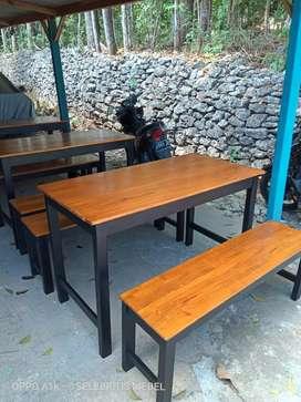 MASIH PROMO set meja kursi cafe warung dll