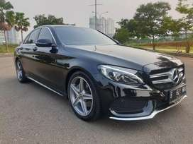 Mercedes Benz C200 AMG 2018 Perfect Condition Warranty sampai 2022