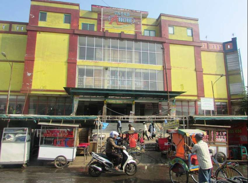 Dijual 2 Unit Kios di Pasar Andir, Bandung