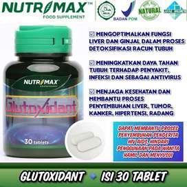 Nutrimax Glutoxidant 30 Tablet Detox Imunitas Liver Ginjal Oksidan