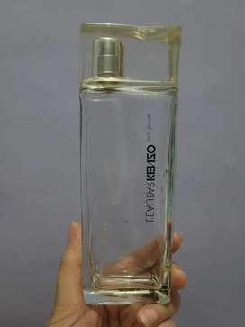 Botol Parfum Kenzo Kosong Original