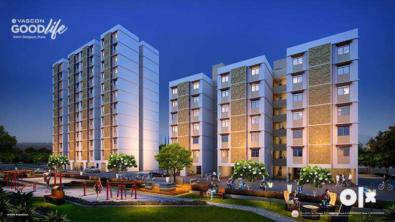2 BHK Flats for Sale in MIDC Rd Katvi , at ₹ 30 Lakh, (all inclusive) 0