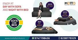 Sofa cum bed - in different size and colour