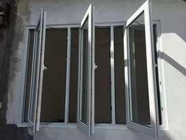 Kusen pintu jendela aluminium kaca