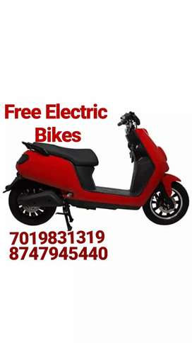 Free electrical bike (For Grocery delivery)
