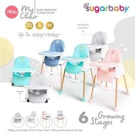 Sugarbaby HighChair 6 Growing Stage Kursi Makan Bayi / 6 posisi/ jogja