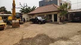 Disewa Gudang Terbuka dan kantor di Narogong, Jawa Barat