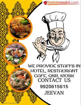 STAFFS FOR YOUR HOTELS /RESTAURANTS /CAFES