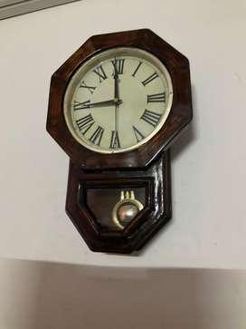 Antique style OCTAGON PENDULUM CLOCK