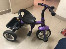 Branded Kids tri-cycle for years less than 3