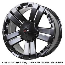 Velg Cliff R20 Mobil Innova, NAV1, Noah, Lexus Cicilan 0%