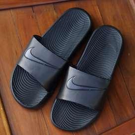 ORIGINAL Nike Bennasi Full Black All Hitam Sandal Pria Wanita