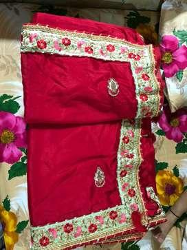 Wedding wear saree