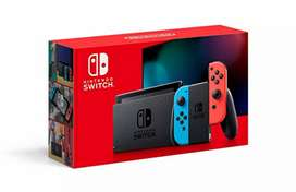Nintendo Switch Neon Blue HAC 001-01