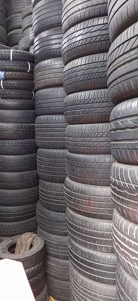 Only 20% to 30% Used Tyres available for all Cars and Bike