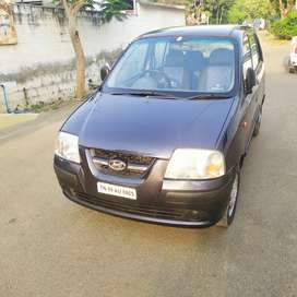 Grey colour Hyundai Santro Xing 2007