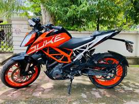 Ktm duke 390 abs with g.p.s tracking system