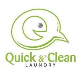 Lowongan Kerja Store Crew di Quick & Clean Laundry