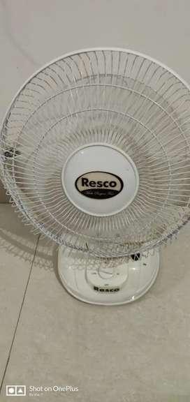 Resco table fan
