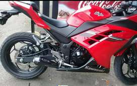 Knalpot ninja 250cc model kolong
