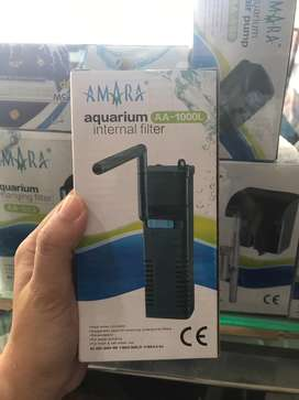 Jual internal filter aquarium amara AA 1000L